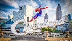 Spider-Man swings to rock n roll